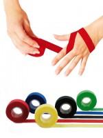 KK Sporttape 2 cm | Fingertape | verschiedene Farben | 10 m Rolle gelb / Rolle