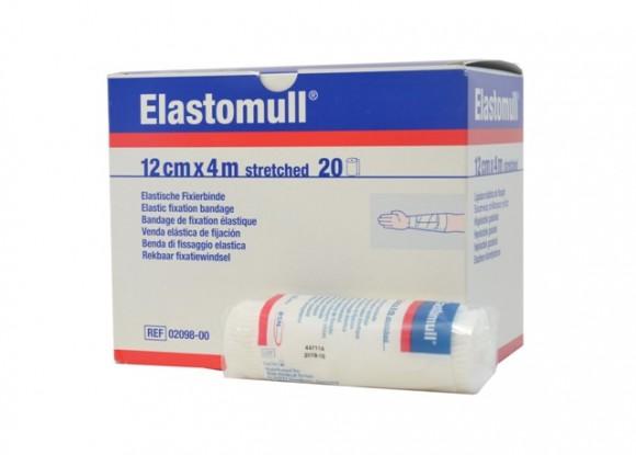 Elastomull® Fixierbinde 12 cm x 4 m Rolle