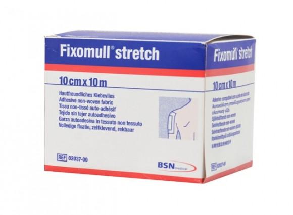 Fixomull® stretch Verbandfixierung 10 cm x 10 m Rolle
