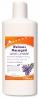 KK Wellness Massageöl Amyris-Lavendel 1 Liter Flasche