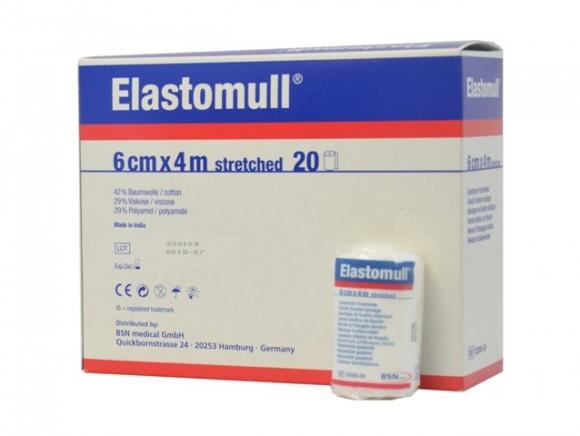 Elastomull® Fixierbinde 6 cm x 4 m Rolle