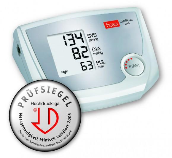 Boso medicus uno   Oberarmblutdruckmessgerät   Standardmanschette 22-32 cm