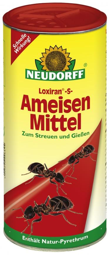 Loxiran -S- | Ameisenmittel | Zum Streuen und Gießen | 500g Dose