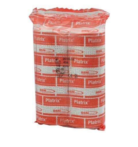 Platrix® Gips Binde 15 cm x 3 m Packung mit 2 Rollen