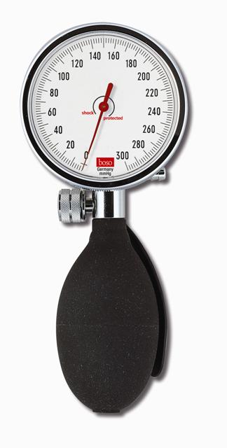 boso Manometer Solid I Ø 60 mm   Schwarz   Mit Druckball