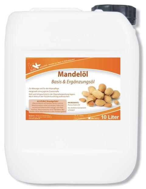 KK Mandelöl   Raffiniert   10 Liter Kanister