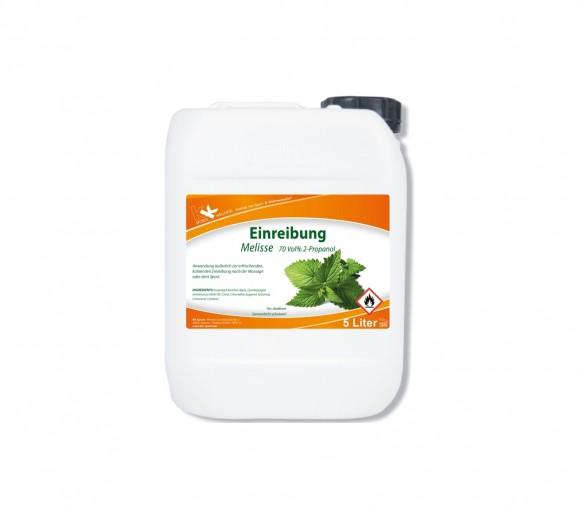 KK Einreibung Melisse (70 Vol.%) 5 Liter Kanister