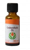 KK Ätherisches Öl Cedernholz 30 ml Flasche