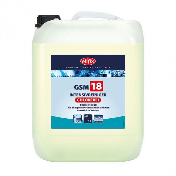 Eilfix® GSM 18 OC Geschirrspülmaschinenreiniger | chlorfrei | 14 kg Kanister