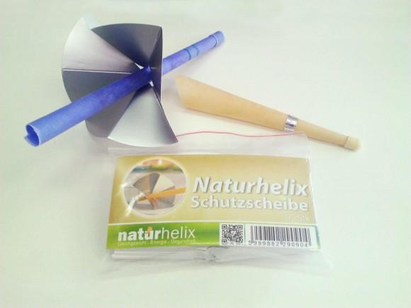 Naturhelix Schutzscheiben Ersatzschutzscheiben 10 Stück/Packung