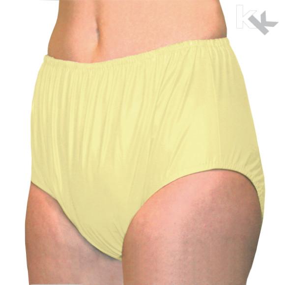 Suprima | PVC Inkontinenz-Slip | Unisex | Größe 56-60 | Schlupfform | Gelb | 1205