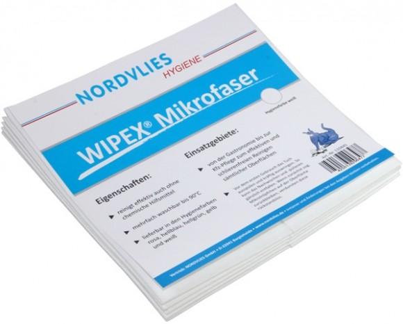WIPEX® | Mikrofaser-Wischtuch | 40 x 38 cm | Z-gefaltet | 50 Stück/Karton
