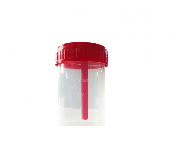 Stuhlsammelbehälter   Volumen ca. 40 ml   250 Stück/ Karton   09188