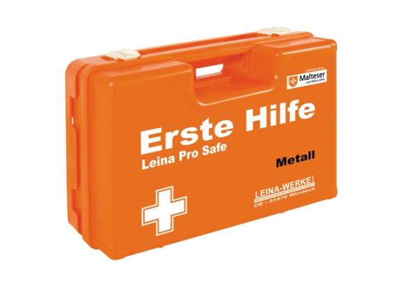 Leina Pro Safe Metall Erste Hilfe Koffer