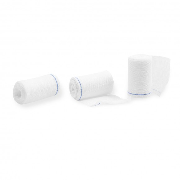 ABE® Tamponadebinden   Mit RöKo   Steril   6 cm x 2 m   25 Pouch/Packung