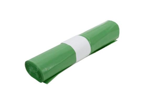 Müllsack | 120 Liter | Typ 60 | Grün | 25 Stück/Rolle