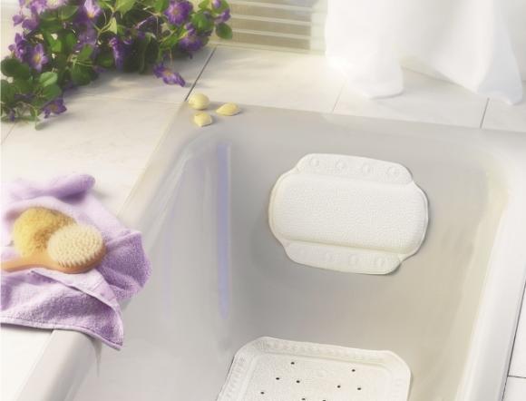 Sundo | Kopfpolster für die Badewanne | 22 cm x 32 cm