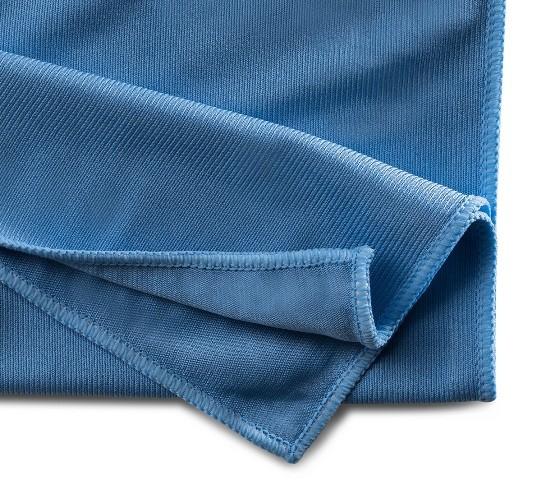 Mopptex   Microfaser-Fenstertuch   Blau   40 x 40 cm