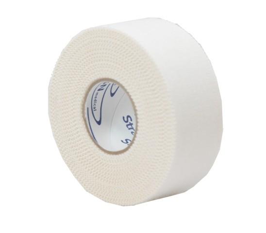 Strappal®   Klebebinde Tape   Weiß   2,5 cm x 10 m Rolle