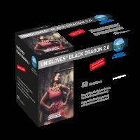 Unigloves Einmal-Mundschutz BLACK DRAGON 2.0 Latexfrei 50 Stück/Box
