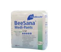 BeeSana® Medi-Pants   Windelhosen   Gr. M-XL   14 Stück/Packung Packung mit 14 Stück