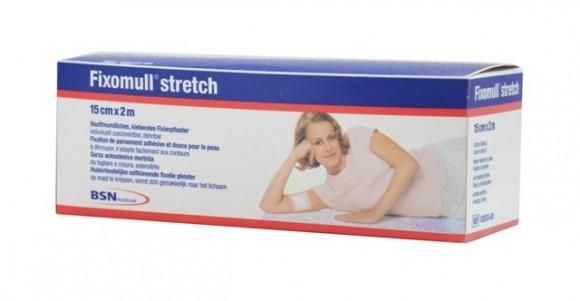 Fixomull® stretch Verbandfixierung 15 cm x 2 m Rolle