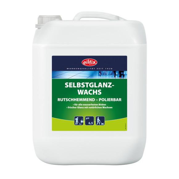 Eilfix® Selbstglanzwachs | Polierbar & rutschhemmend | 10 Liter Kanister