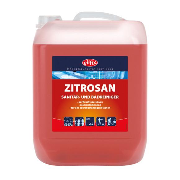 Eilfix® Zitrosan   Sanitär- und Badreiniger   10 Liter Kanister