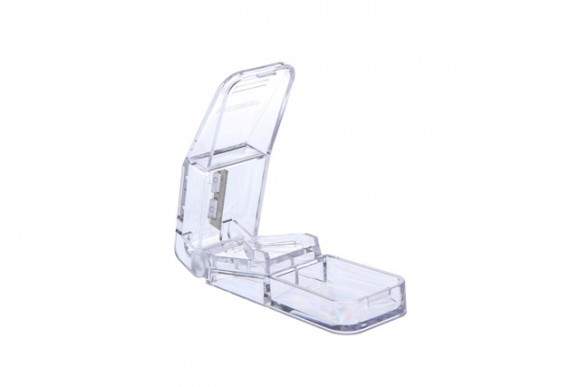 Tablettenteiler   Transparent   850 x 350 x 250 mm   1 Stück   L-09162-T