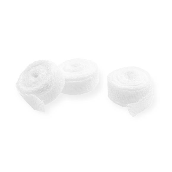 ABE® Tamponadebinden | Ohne RöKo | Steril | 1 cm x 5 m | 100 Pouch/Packung