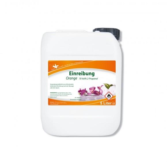 KK Einreibung Orange (70 Vol.%) 5 Liter Kanister