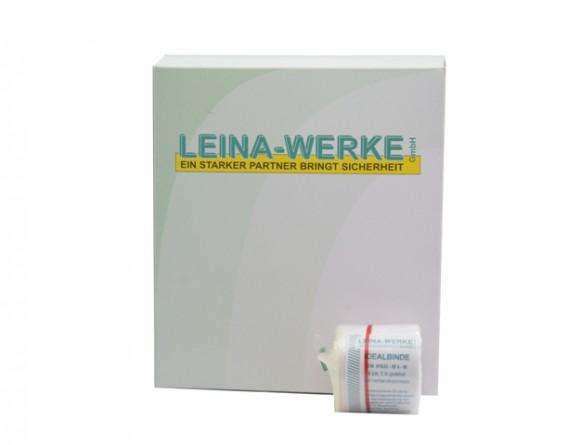 Idealbinden | 4 cm x 5 m | Weiß | 10 Stück | Einzeln verpackt in Faltschachtel