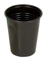 Unigloves Mundspülbecher 180 ml Schwarz 100 Stück/Packung