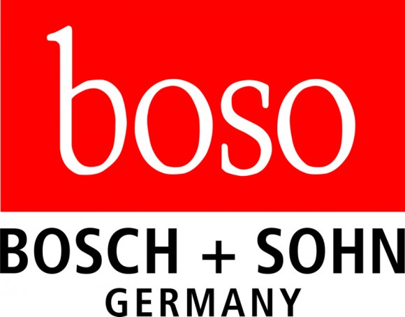 Zugbügelklettenmanschette für Boso egotest | starke Arme | Schwarz/Rot