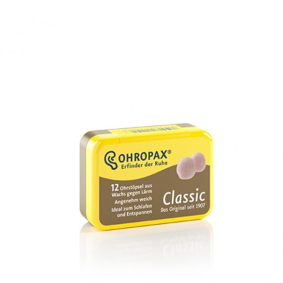 OHROPAX® Classic | Ohrstöpsel aus Wachs | 12 Stück/Dose