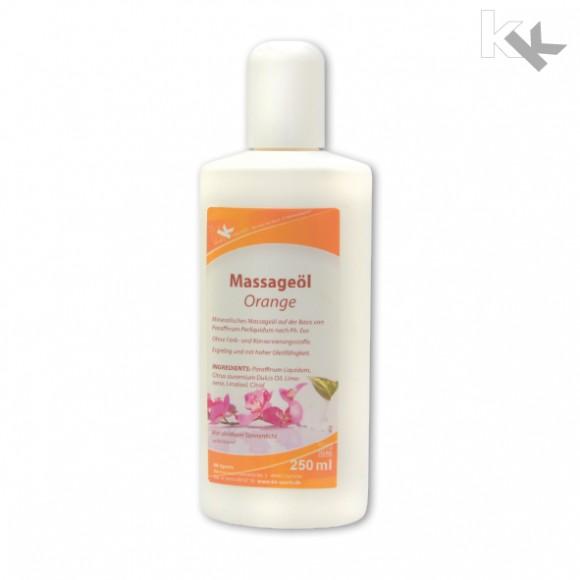 KK Massageöl Orange 250 ml Flasche