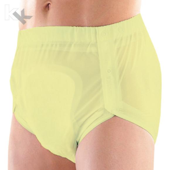 Suprima | PVC Inkontinenz Slip | Unisex | Größe XL | Verschiedene Farben | Knöpfbar | 1250