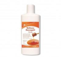 KK Wellness Massageöl Honig 1 Liter Flasche