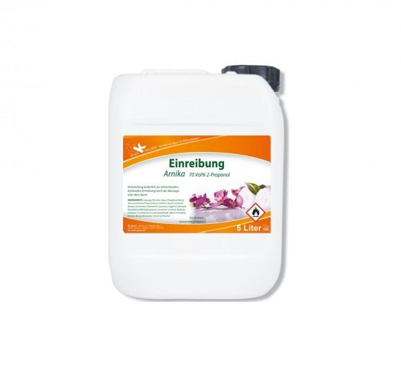 KK Einreibung Arnika (70 Vol.%) 5 Liter Kanister