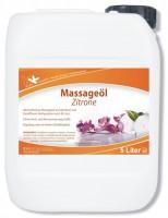 KK Massageöl Zitrone 5 Liter Kanister