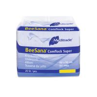 BeeSana® Comflock Super   Krankenunterlagen   60 x 90 cm   25 Stück/Packung   2066  